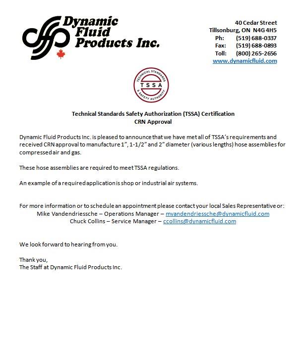 Dynamic Fluid CRN Announcement